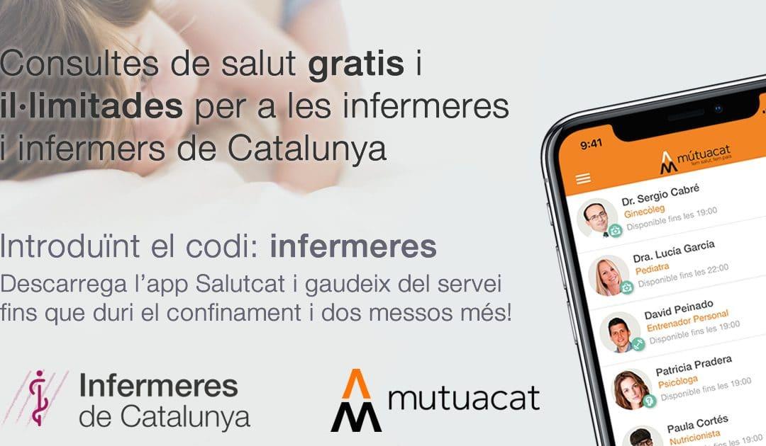App de consultes de salut gratis per les infermeres i infermers de Catalunya