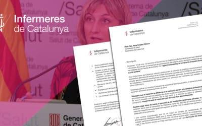 Carta a la Consellera de Salut amb diferents demandes arran del Decret Llei de Gratificació Extraordinària
