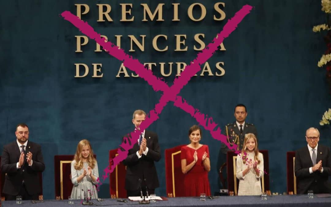 Infermeres de Catalunya rebutgem el Premi Princesa d'Astúries