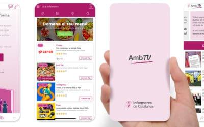 """Publiquem l'app """"AmbTU"""" per acostar el sindicat a totes les professionals, siguin o no afiliades."""