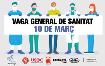 Resol els dubtes sobre la vaga general de salut i serveis assistencials